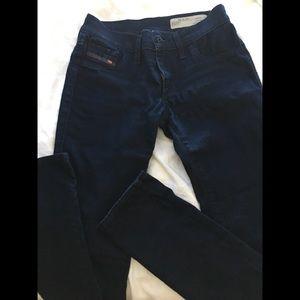 Diesel super slim jeans size 26 us 2